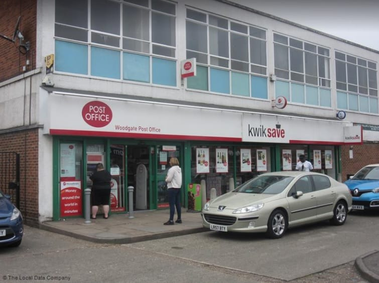 Woodgate Post Office