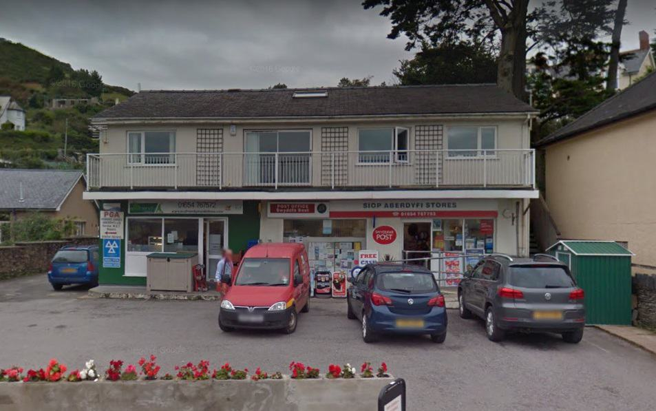Aberdovey Post Office