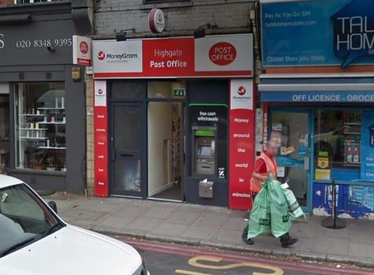 Highgate Post Office