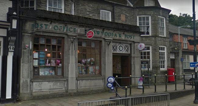 Corwen Post Office
