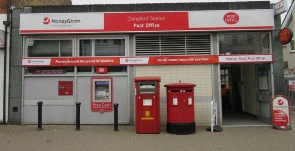 Chingford Station Road Post Office