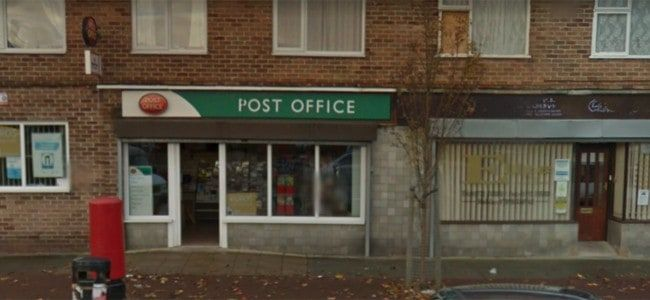 Larches Post Office