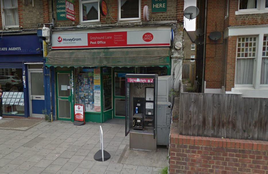 Greyhound Lane Post Office