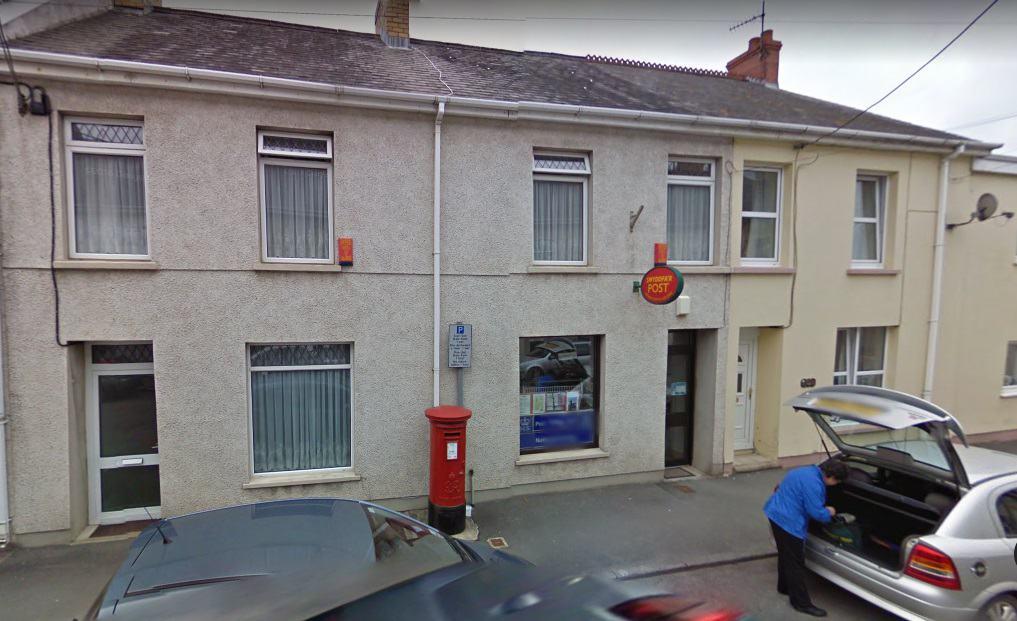 Llanddewi-Velfrey Post Office