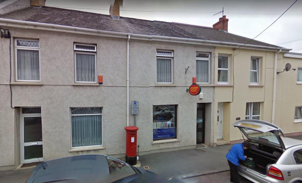 Whitland Post Office