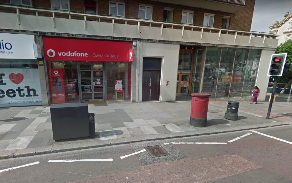 Swiss Cottage Post Office
