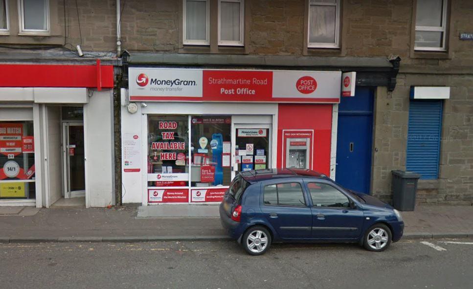 Strathmartine Road Post Office