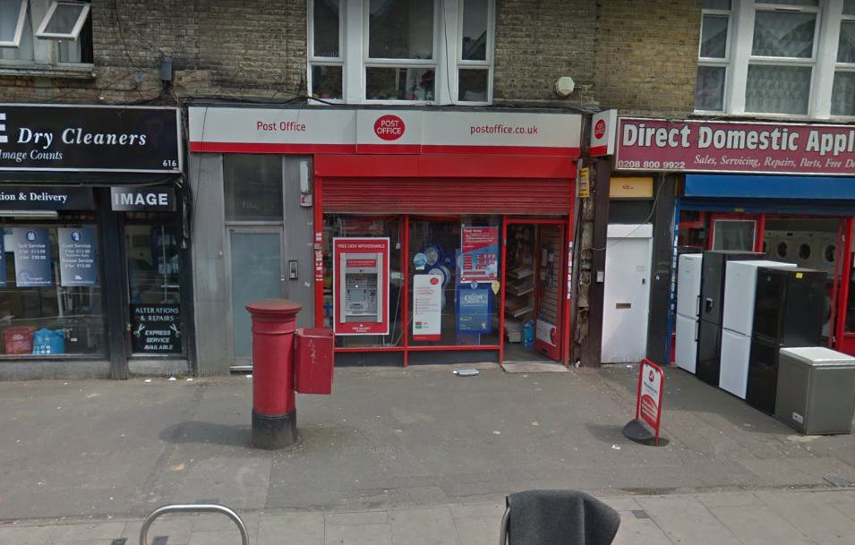 Seven Sisters Road Post Office