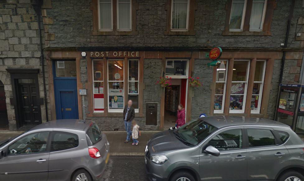 Newton Stewart Post Office