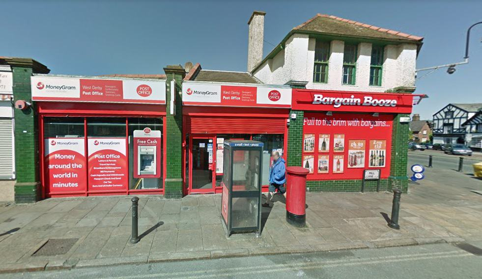 West Derby Post Office