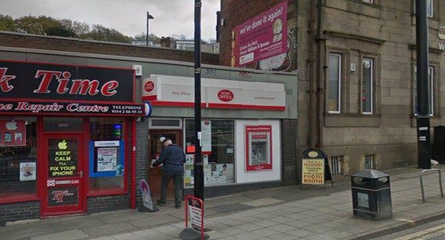 Banner Cross Post Office