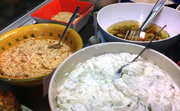 Griekse salades