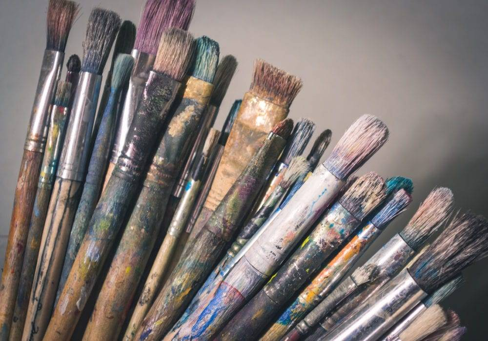 services page tips paint brushes