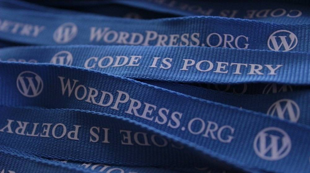 lanyards from a WordPress wordcamp