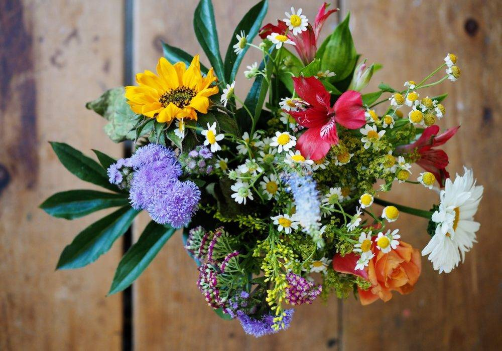 women of color quotes - a colorful bouquet of flowers