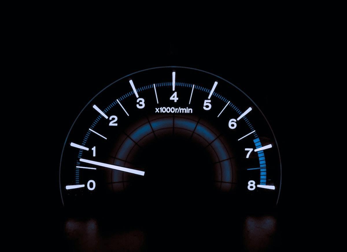 website slow to load - speedometer