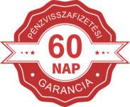 Pénzvisszafizetési garancia - 60 nap