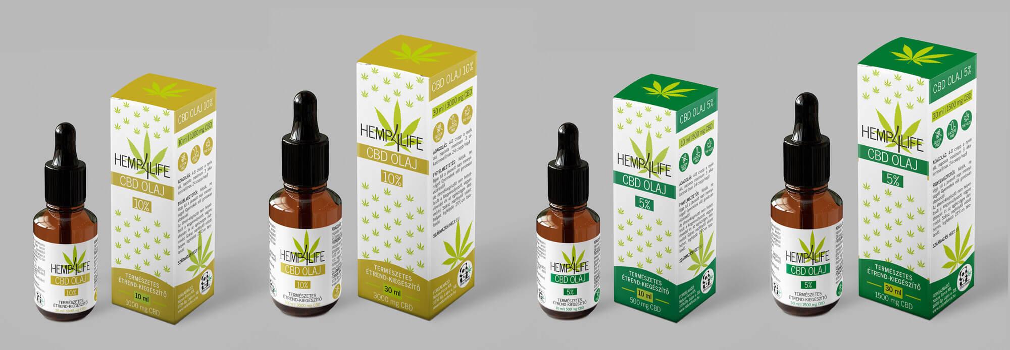 Hemp4Life termékcsalád