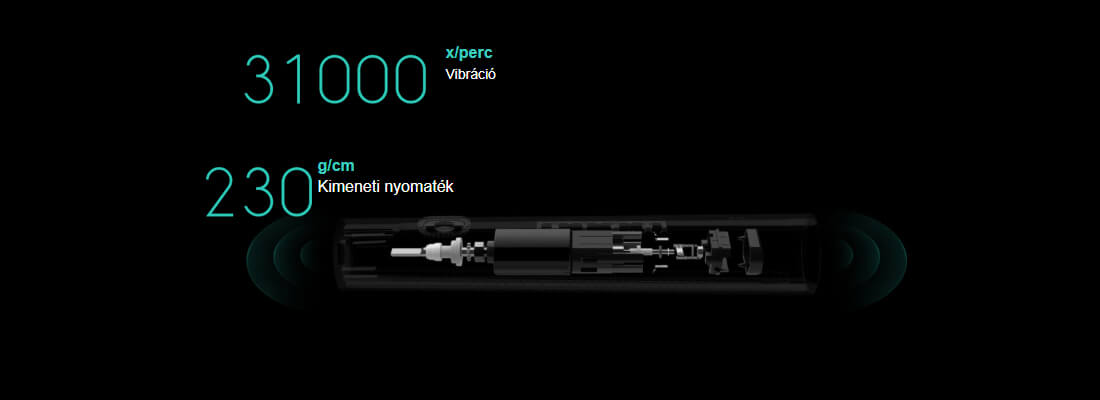 Xiaomi Mi Electric Toothbrush elektromos fogkefe - fehér