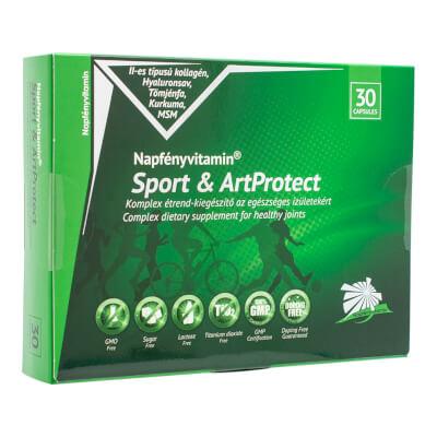 Sport & ArtProtect ízületvédő komplex (30db) - Napfényvitamin