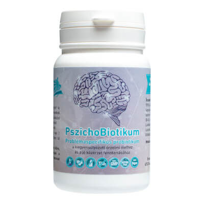 PszichoBiotikum Problémaspecifikus Probiotikum (60db) - Napfényvitamin