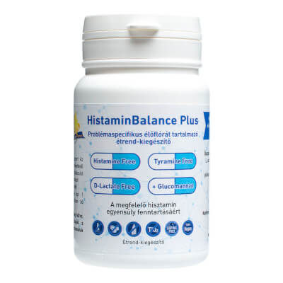 HistaminBalance Plus problémaspecifikus probiotikum (60 db) - Napfényvitamin