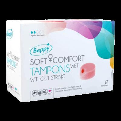 Beppy Soft+Comfort Tampons WET (8db)