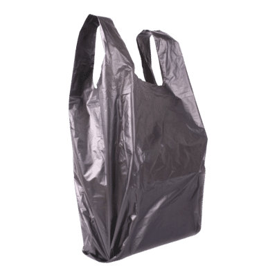 Műanyag táska nagy 45x40 (fekete)