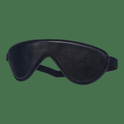 Devil Sticks - bőr szemtakaró (fekete)