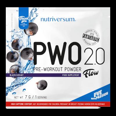 PWO 2.0 - 7g - FLOW - Nutriversum - feketeribizli