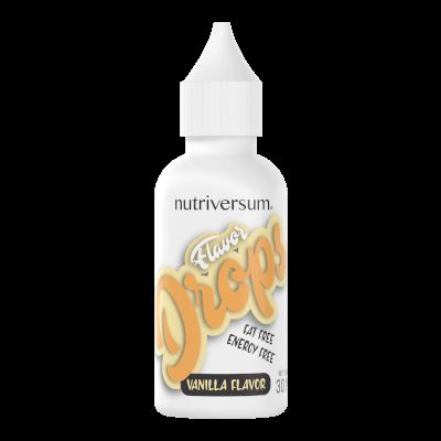 Flavor Drops - 30 ml - FOOD - Nutriversum - vanília