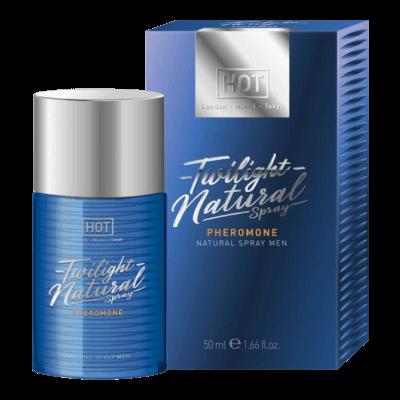 HOT Twilight Natural - feromon parfüm férfiaknak (50ml) - illatmentes