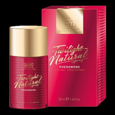 HOT Twilight Natural - feromon parfüm nőknek (50ml) - illatmentes