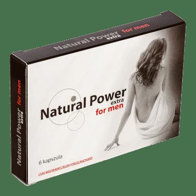 Natural Power Extra - 6db kapszula