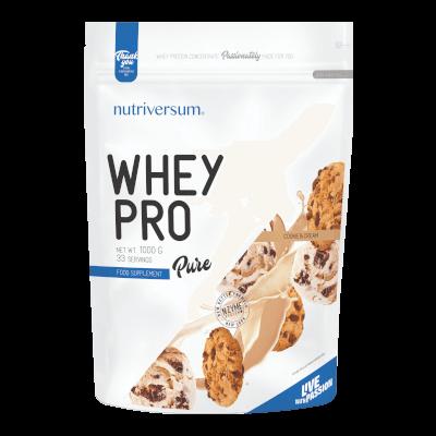 Whey PRO - 1 000 g - PURE - Nutriversum - cookie & cream