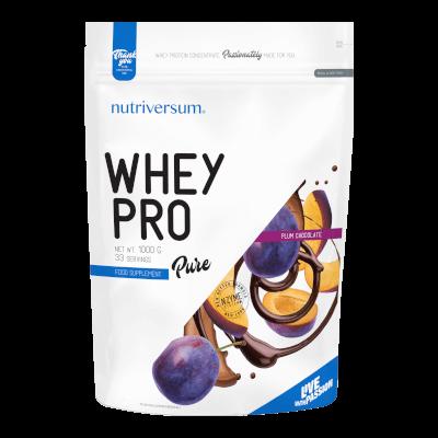 Whey PRO - 1 000 g - PURE - Nutriversum - csokoládé-szilva