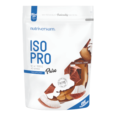 ISO PRO - 1 000 g - PURE - Nutriversum - csokoládé-kókusz