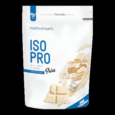 ISO PRO - 1 000 g - PURE - Nutriversum - fehércsokoládé