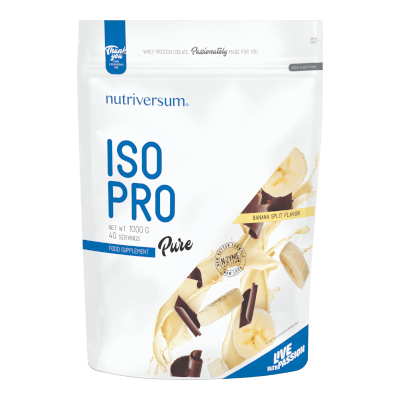 ISO PRO - 1 000 g - PURE - Nutriversum - banán split
