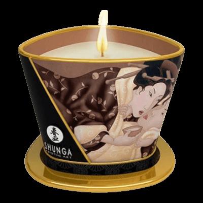 Shunga - Masszázsgyertya Csokoládé (170ml)