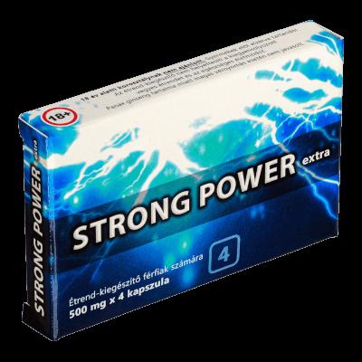 Strong Power Extra - 4db kapszula