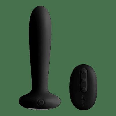 Svakom Primo - akkus, vízálló, melegítős análvibrátor (fekete)