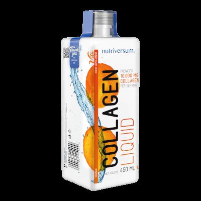Collagen liquid - 10.000 mg - 450 ml - VITA - Nutriversum - narancs