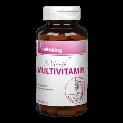 9 Hónap Multivitamin - 60 tabletta - Vitaking
