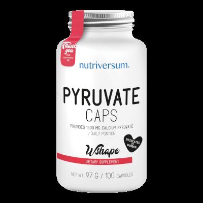 Pyruvate - 100 kapszula - WSHAPE - Nutriversum