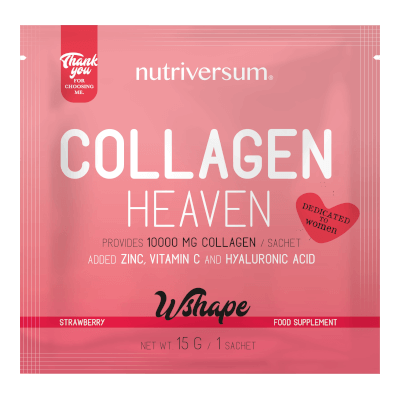 Collagen Heaven - 15 g - WSHAPE - Nutriversum - eper