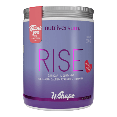 RISE - 300 g - WSHAPE - Nutriversum - feketeribizli