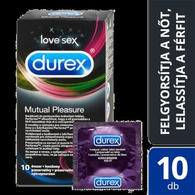 Durex Mutual Pleasure óvszer (10db)