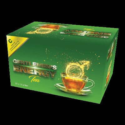 Gentlemen's Energy Tea - Citrom - 20 filter