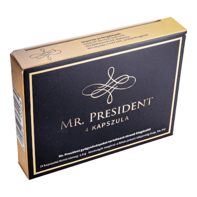 Mr. President - 4db kapszula